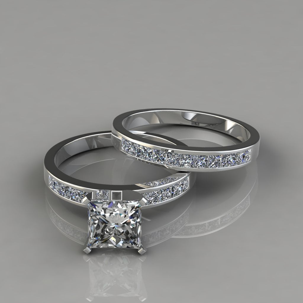Shown With A 1 50 Carat Center Diamond