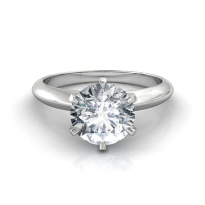 Solitaire Round Cut