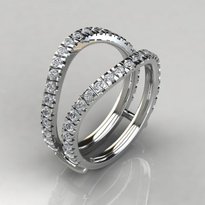 Matching Ring Enhancer For Double Halo Ring